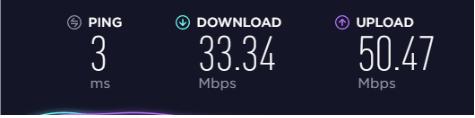 FastestVPN upload download ping