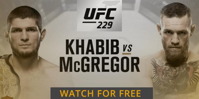 mcgregor vs khabib free stream