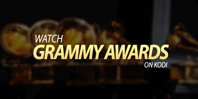 grammy awards on kodi