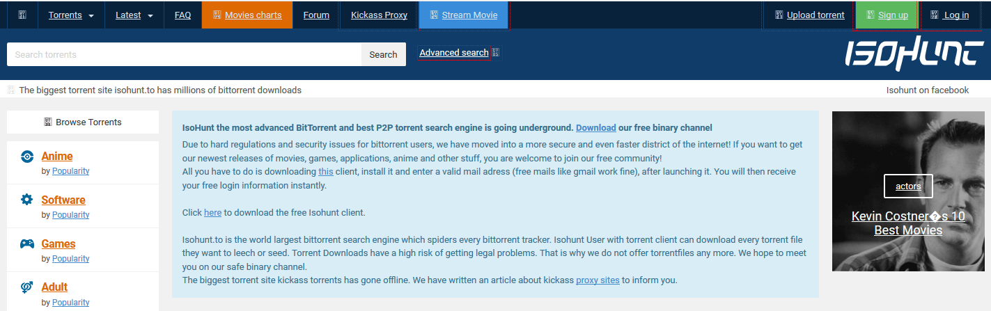 isohunt best torrent search engine