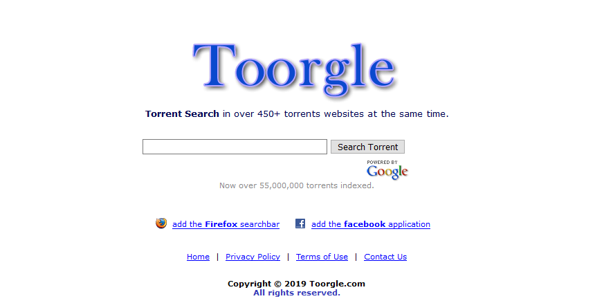 toorgle best torrent search engine