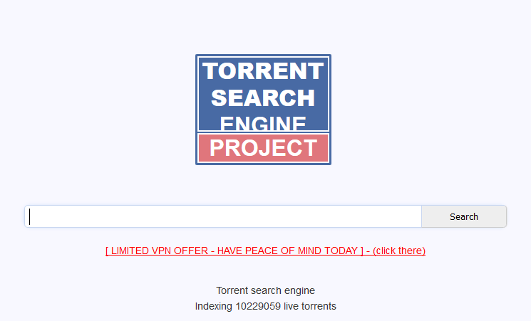 torrent project best torrent search engine