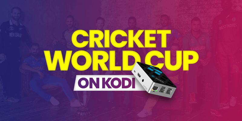 watch cricket world cup on kodi