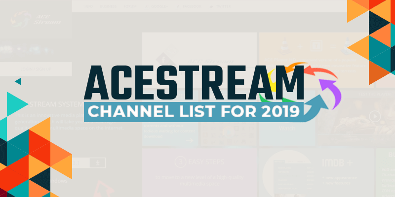AceStream Channel Lists