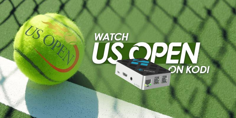 Watch US Open on Kodi