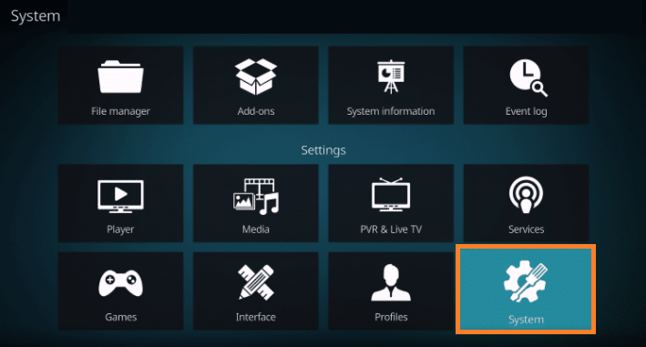 Install Kodi add on Step 2