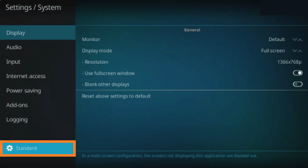 Install Kodi add on Step 3