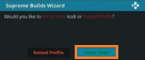 Install a Kodi Build step 18