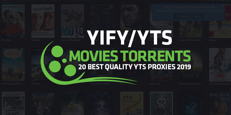 Best YTS Proxy Sites