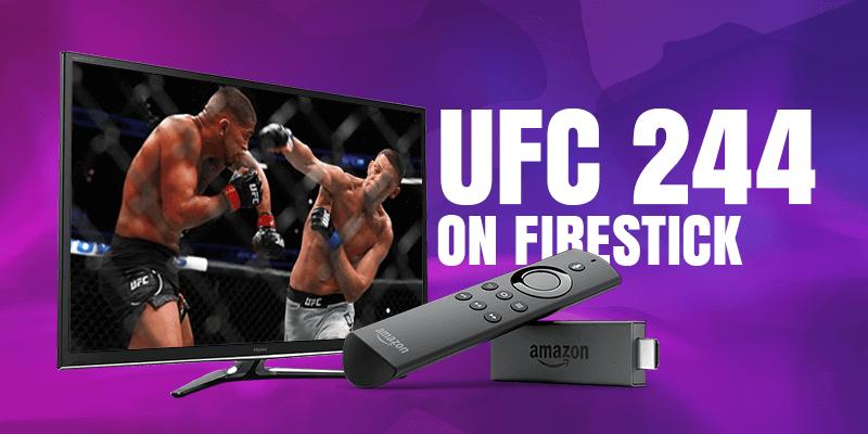 UFC 244 on Firestick