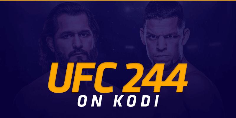 UFC 244 on Kodi