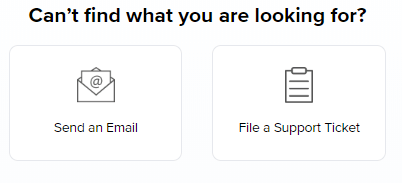 Additional support options