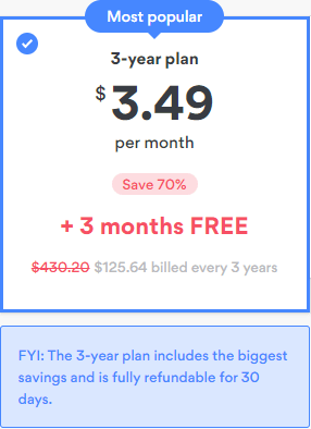 NordVPN 70% Discount Coupon Pricing