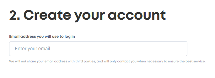 Surfshark VPN 30 Days Step 2 Of Signing Up Through Email