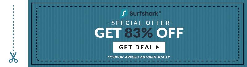 SurfShark Discounted Coupon