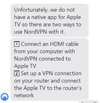 Connecting NordVPN With Apple TVs