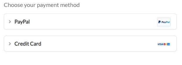 ZenMate VPNs Payment Method