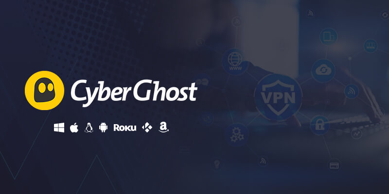 CyberGhost 7 multi-device login VPN