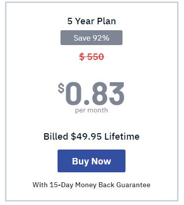 5 year plan FastestVPN