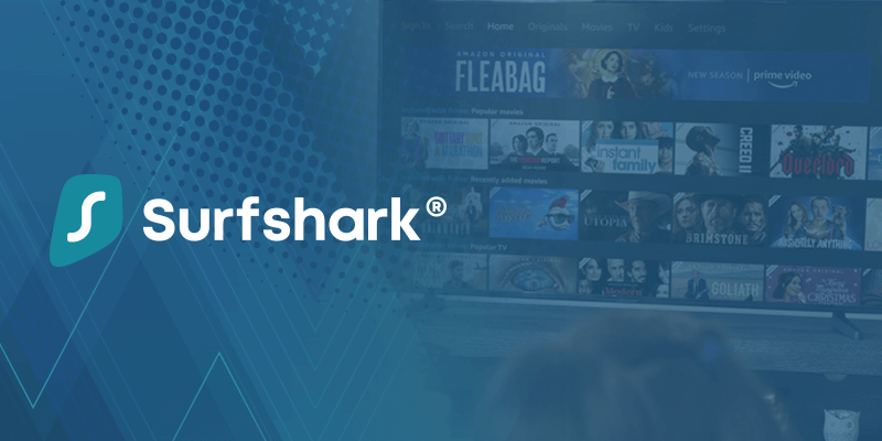 Amazon Prime Surfshark VPN