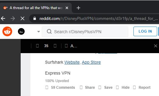 Disney+ Reddit VPN
