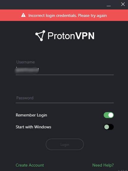 ProtonVPN Windows Client