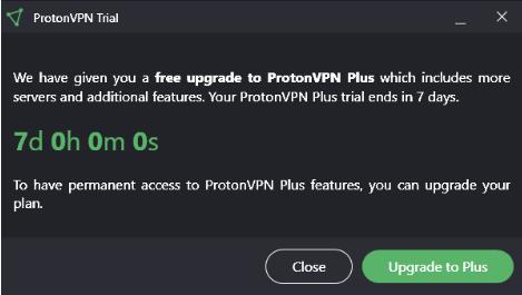 ProtonVPN Free Trial