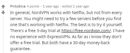 Canadian VPN Reddit Users Choice