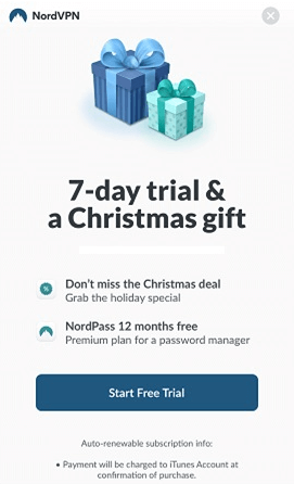 7 day free trial step 2