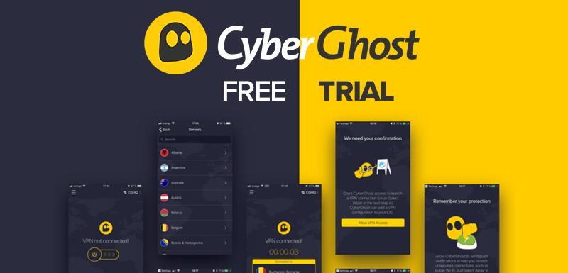 Cyberghost free Trial