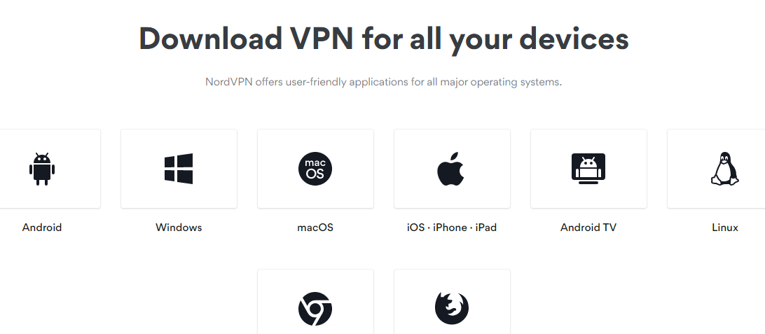 NordVPN supported devices