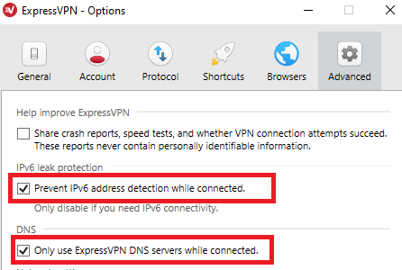 ExpressVPN advanced settings for China