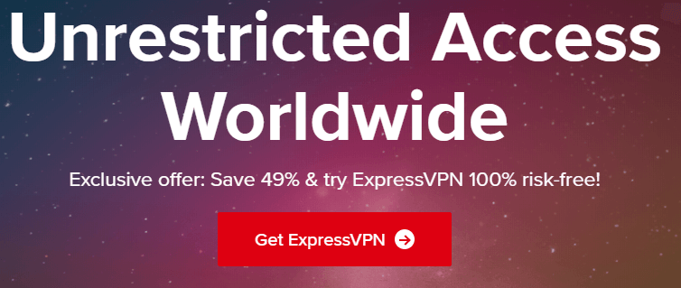 ExpressVPN create account