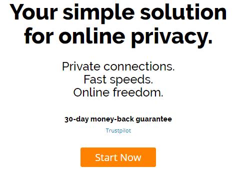 IPVanish home page