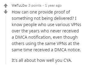 VyprVPN Reddit DMCA