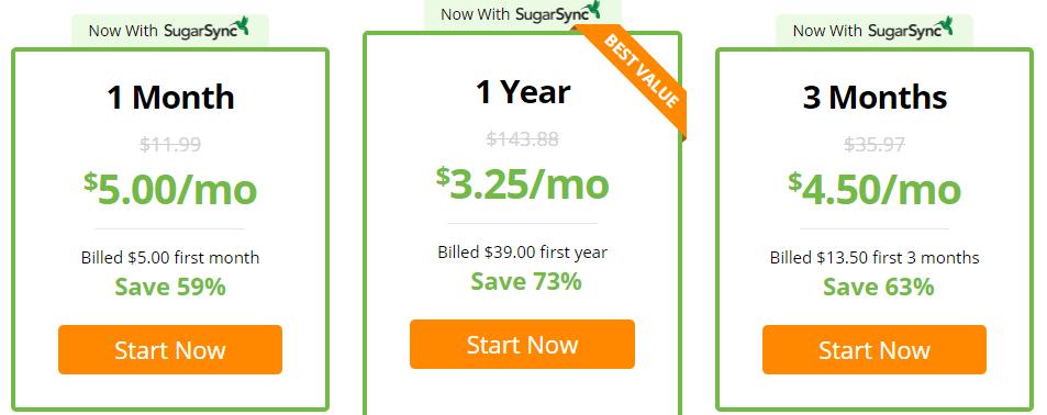 IPVanish price packages