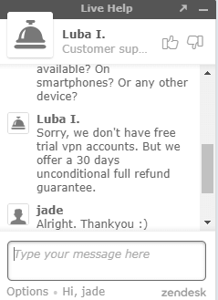 No free trial for StrongVPN