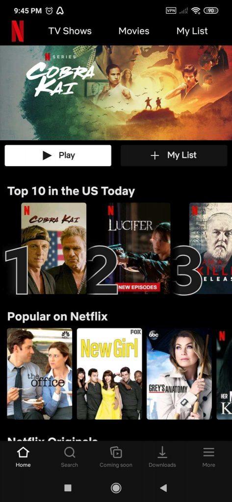Atlas VPN Netflix