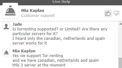 SaferVPN servers for torrenting