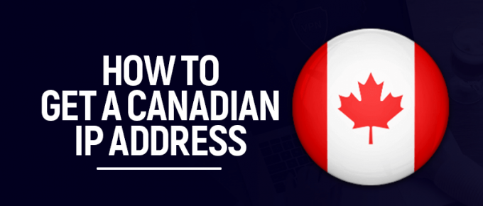 Canadian IP address