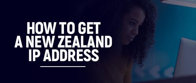 New Zealand IP Address