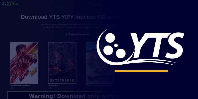 YTS best torrent site for movies