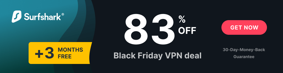 Surfshark Black Friday VPN deal