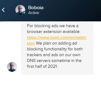 Ad-blocker OVPN