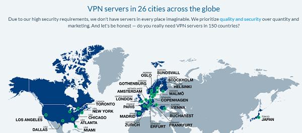 OVPN servers