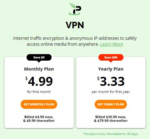 IPVanish regular prices