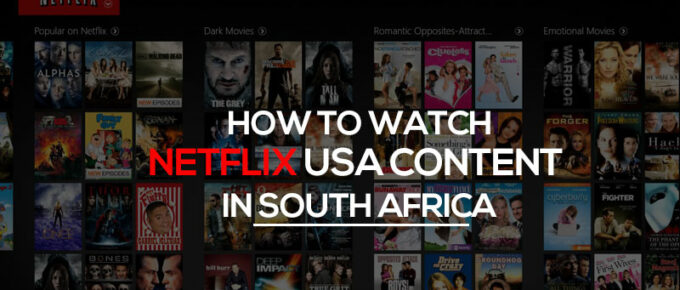 Netflix content in South Africa