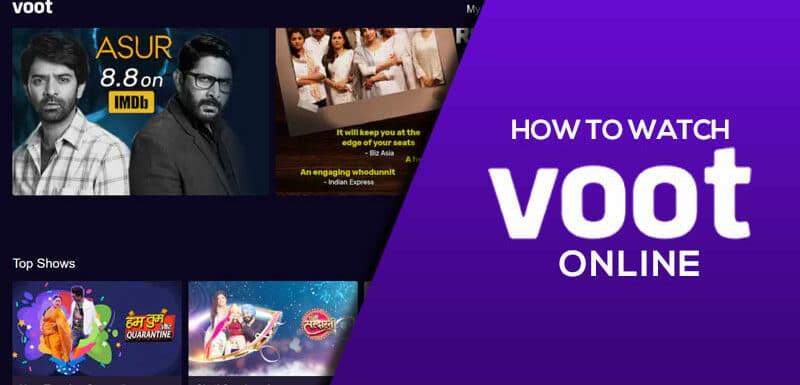 how to watch voot online