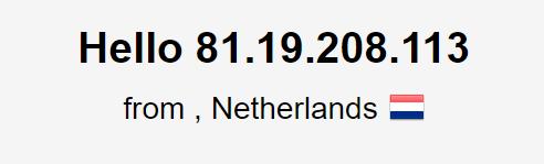 DNS leak test iProVPN Netherlands