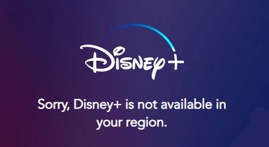 Disney Plus warning sign